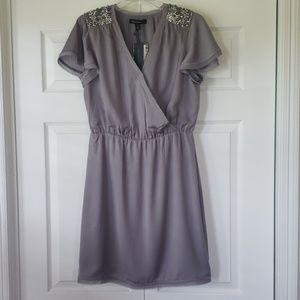 NWT Grey Banana Republic dress /w rhinestone's